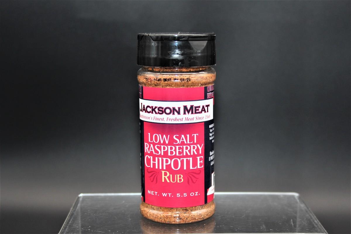 Low Salt Raspberry Chipotle Rub